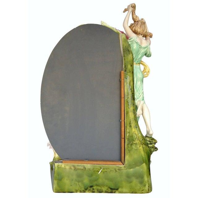 Hans Kieweg Art Nouveau Figural Vanity Mirror for Fraureuth - Image 6 of 10