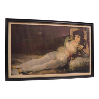 """Modern """"Women Lady Portrait Laying Couch"""" Art Print For Sale"""