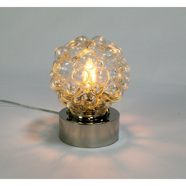 Glass Bubbles Table Lamp For Sale In San Francisco - Image 6 of 14