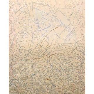 "Mark Tobey ""Morning Grass"" Signed Numbered Etching C. 1975 For Sale"