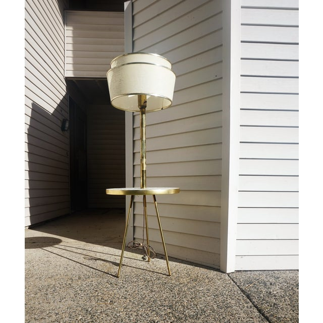 Italian Space Age Table Floor Lamp - Image 5 of 10