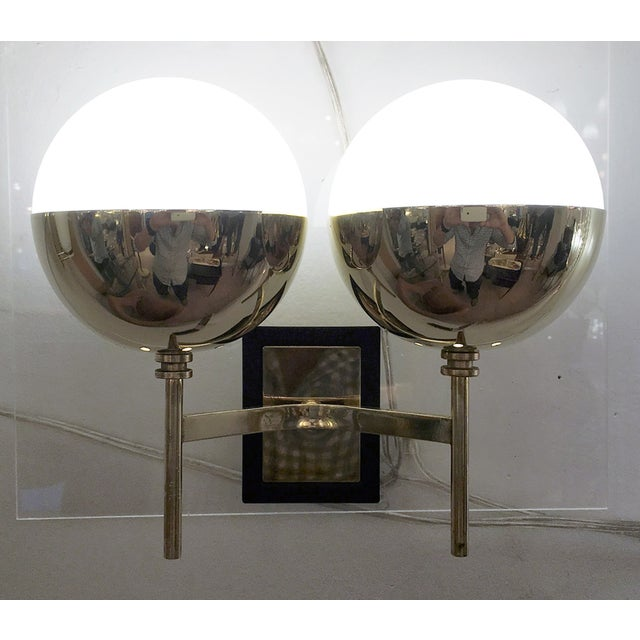 1960s Diminutive Mid-Century Italian Sconces - a Pair For Sale - Image 5 of 6