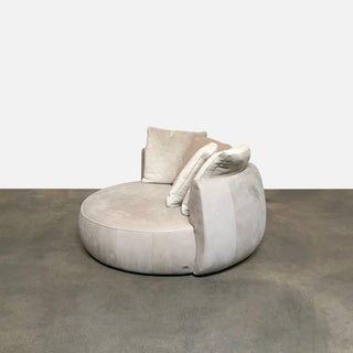Modern Fendi Moony Swivel Sofa Love Seat Preview