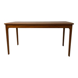 1960s Danish Modern Ole Wanscher for a.j. Iversen Mahogany Coffee Table For Sale