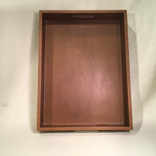 2010s Studded Serving Tray For Sale - Image 5 of 8