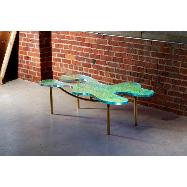 Picasso Coffee Table by Artist Troy Smith - Contemporary Design - Artist Proof - Limited Edition For Sale - Image 6 of 7