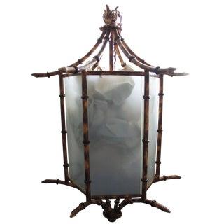 Pagoda Bamboo Light Fixture