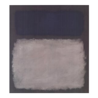 Mark Rothko, Blue & Gray, No Text, Edition: 800, Offset Lithograph, 2005 For Sale
