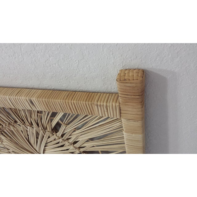 Woven Rattan Twin Headboards - A Pair - Image 9 of 9