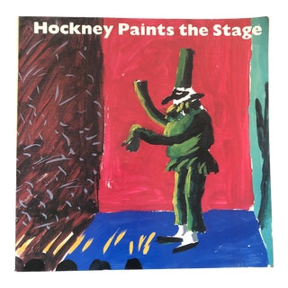 David Hockney Paints the Stage 1983 For Sale