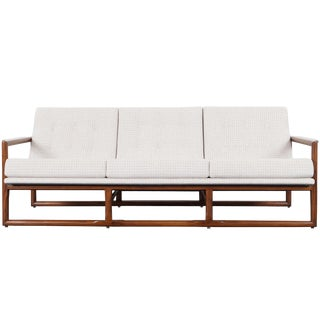 "Mid Century ""Cube"" Sofa by Milo Baughman For Sale"