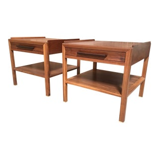 Edward Wormley Large-Scale End Tables - a Pair