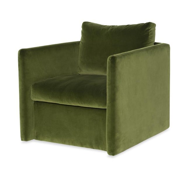 Traditional Highland House Dar Swivel Chair For Sale - Image 3 of 3