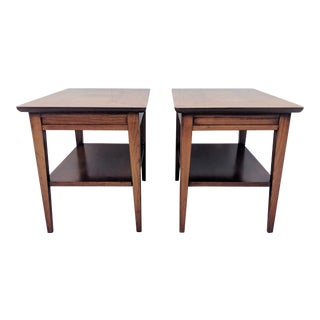 Mid-Century Modern Lane Side Tables – A Pair For Sale