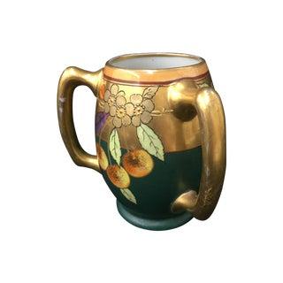 Pickard China Co. Vintage Gold & Black Vase