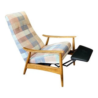 Mid-Century Modern Milo Baughman for James Inc Recliner Lounge Chair For Sale