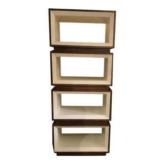 Drexel Heritage Modern Corazon Wood Bookcase For Sale