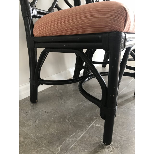 Bamboo Chippendale Side Chairs - A Pair For Sale - Image 4 of 7