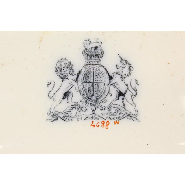 19th Century Ironstone Platter For Sale - Image 11 of 12