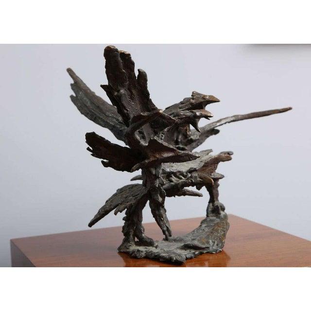George Koras Ravens Sculpture - Image 3 of 8