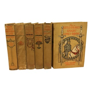 Early 1900s Little Colonel Books - Set of 6