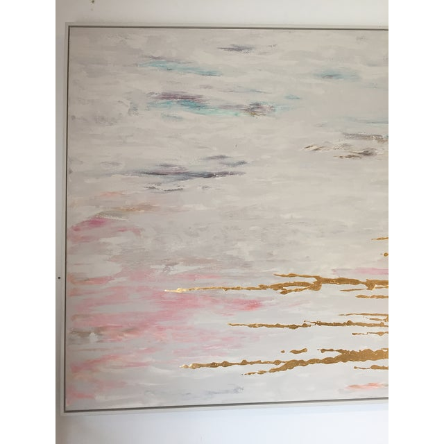 Metallic Commissioned Original Abstract Painting - Image 4 of 8