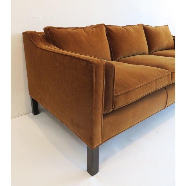 Custom Modern Thin Arm Sofa For Sale - Image 5 of 8