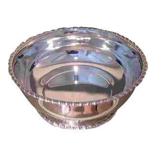 American Sterling Silver Bowl Made in 1897 For Sale