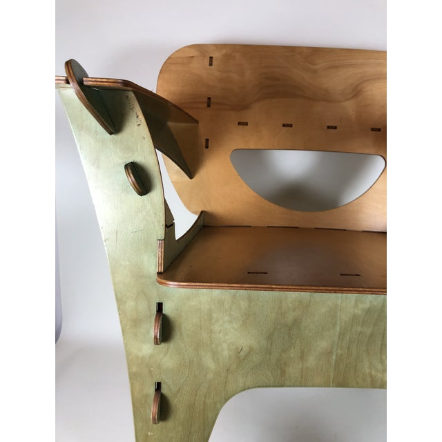 1990s 1990s Vintage David Kawecki Puzzle Chairs- A Pair For Sale - Image 5 of 6
