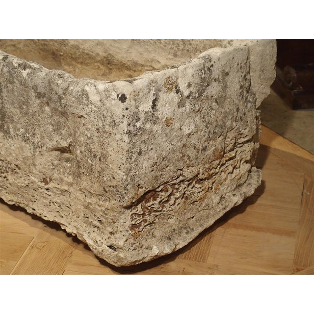 18th Century 18th Century French Stone Farmhouse Trough For Sale - Image 5 of 13