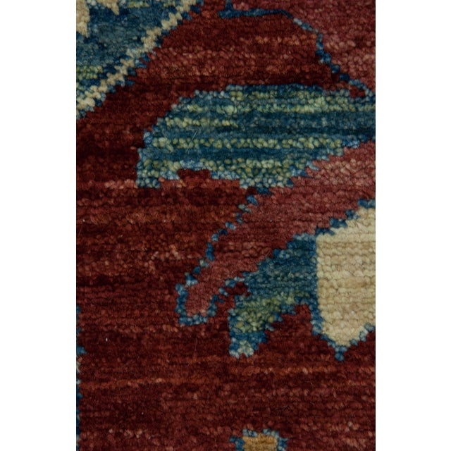 "New Traditional Hand-Knotted Runner - 2' 10""x9' 8"" - Image 3 of 3"