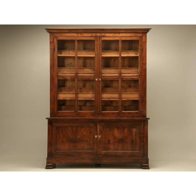 Wood French Specimen Cabinet or Bookcase, circa 1891 For Sale - Image 7 of 11