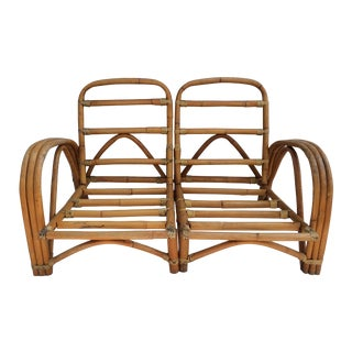 Bamboo & Rattan Chairs or Loveseat