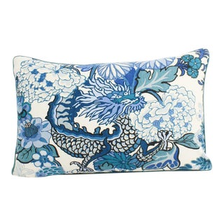 Schumacher Chiang Mai Large Lumbar Pillow For Sale