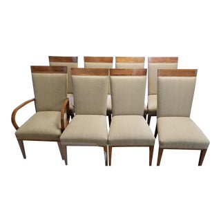 Hickory White Dining Chairs - Set of 8 For Sale