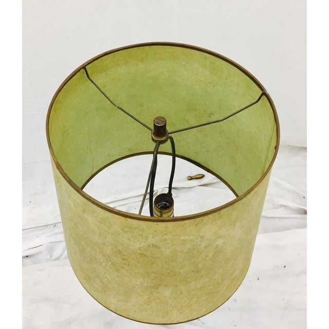 Ceramic Mid-Century Modern Atomic Style Lamp For Sale - Image 7 of 11