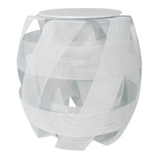Trigono Stool, White For Sale