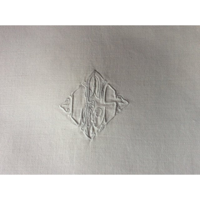 1900s French Linen Napkins - Set of 10 For Sale - Image 4 of 13
