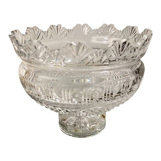 Huge Waterford Crystal Kings Centerpiece Bowl For Sale