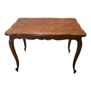 French Louis XV Style Cherry Wood Writing Table or Small Desk