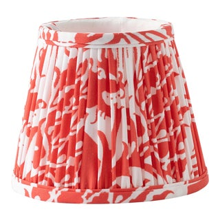 """Whippet in Red 18"""" Lamp Shade, Red For Sale"""