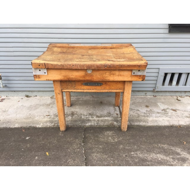 Antique French Butcher's Shop Block - Image 3 of 5