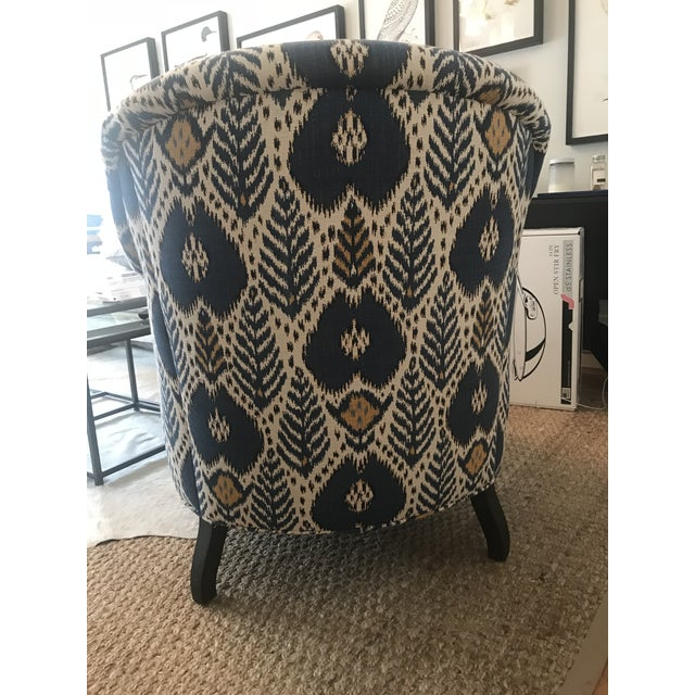 2010s Upholstered Arm Chair For Sale - Image 5 of 6