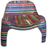 "Image of Mauro Oliveira ""Hard Candy"" Painted Chair For Sale"