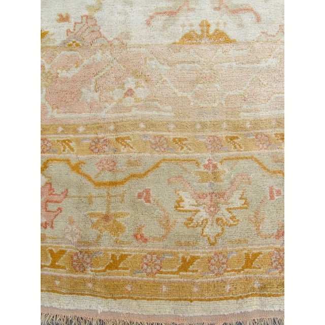 Oversized Oushak Carpet For Sale - Image 9 of 10