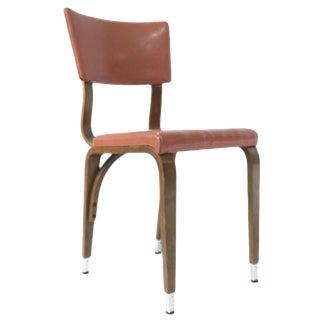 1950s Thonet Bentwood Bent Plywood Dining, Cafe or Desk Chairs, 2 Available For Sale