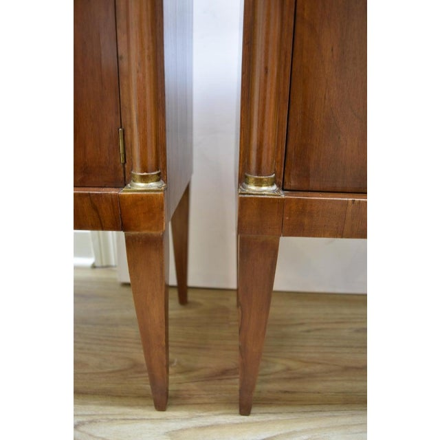 Wood Pair of Vintage Italian Nightstands For Sale - Image 7 of 10