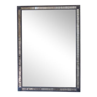 20th Century Mosaic Framed Mirror