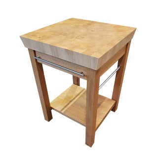 Chabret Solid Wood Butcher Block For Sale