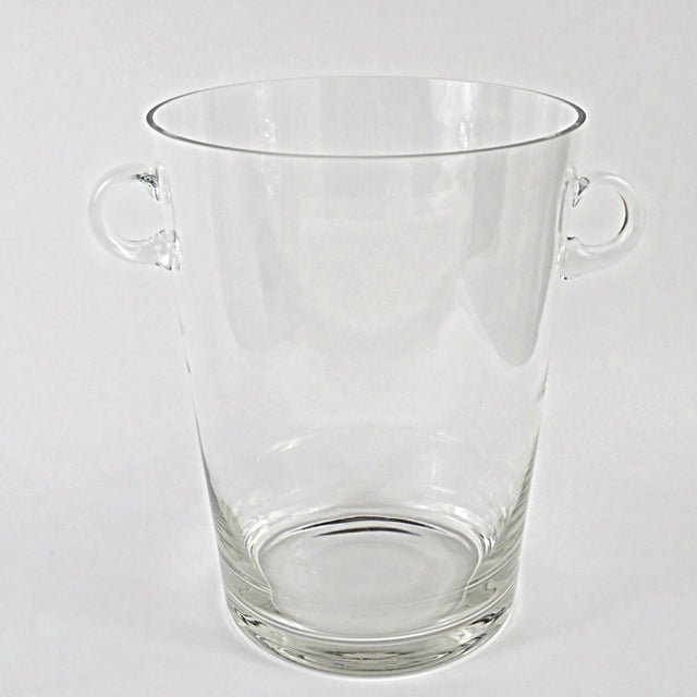Handblown Glass Champagne Bucket - Image 3 of 4